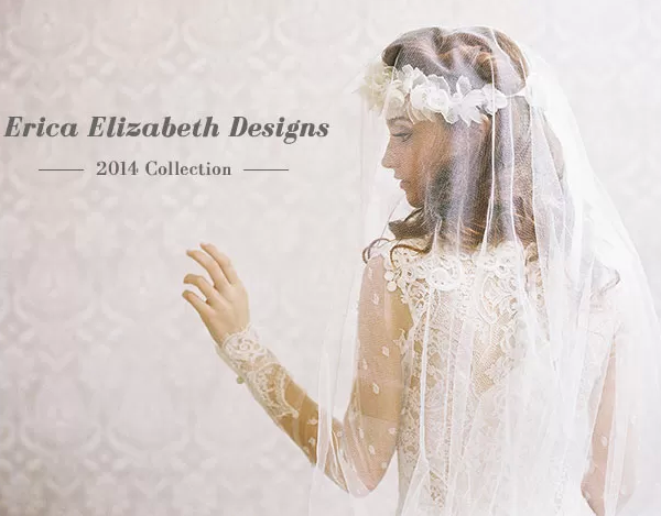Erica Elizabeth Designs 2014 Collection | Green Wedding Shoes Wedding Blog | Wedding Trends for Stylish + Creative Brides