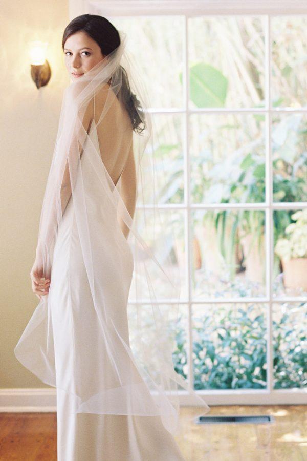 "60"" SIMPLE BALLET BRIDAL VEIL"