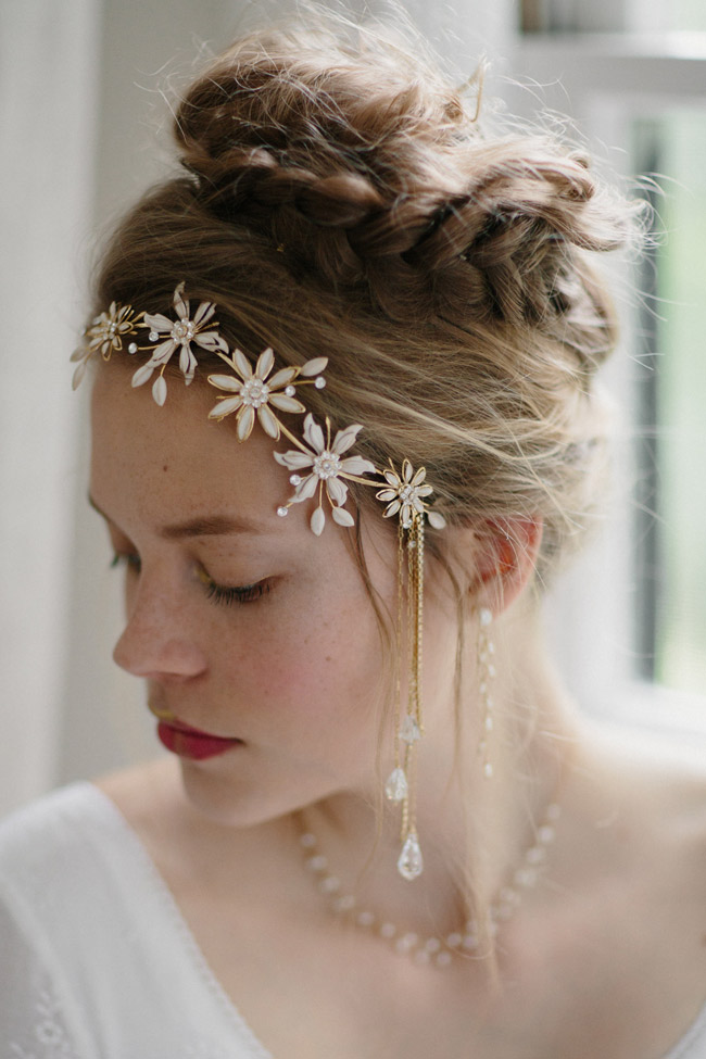 TREASURE HUNT BRIDAL HAIR PIECE