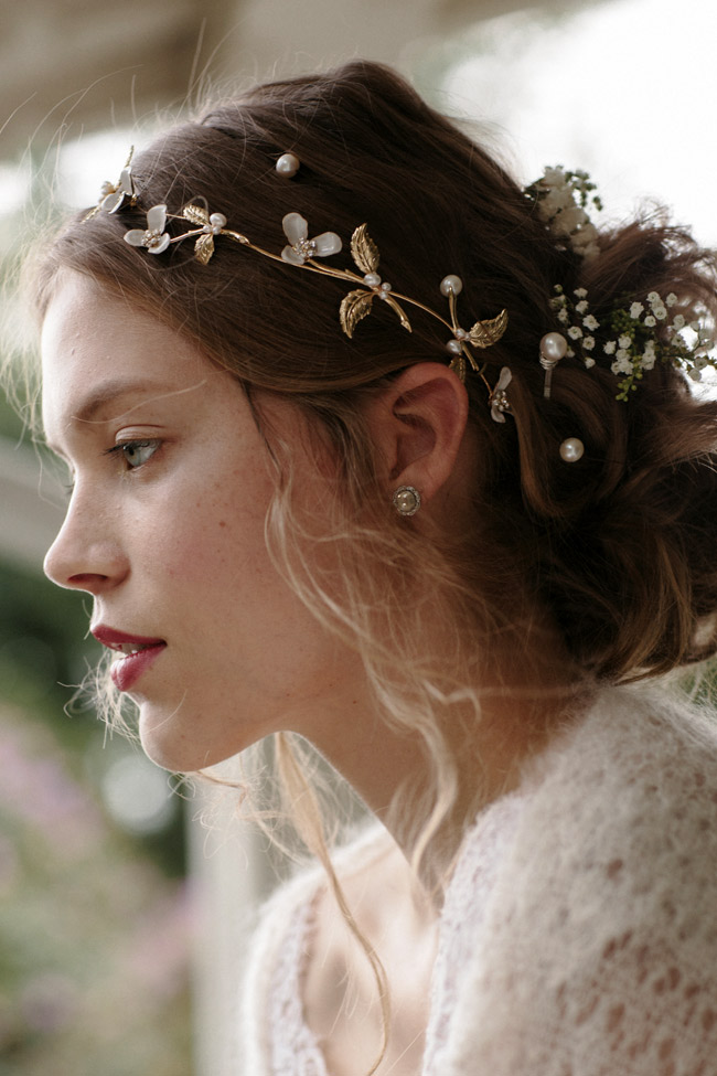 MEADOW WEDDING HAIR VINE