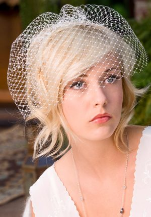 "11"" FRENCH NET BIRDCAGE VEIL"