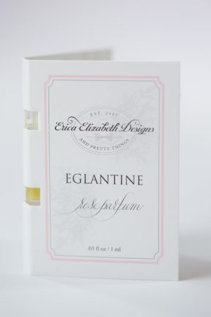 EGLANTINE ROSE PARFUM OIL TRAVEL SIZE SAMPLE VIAL