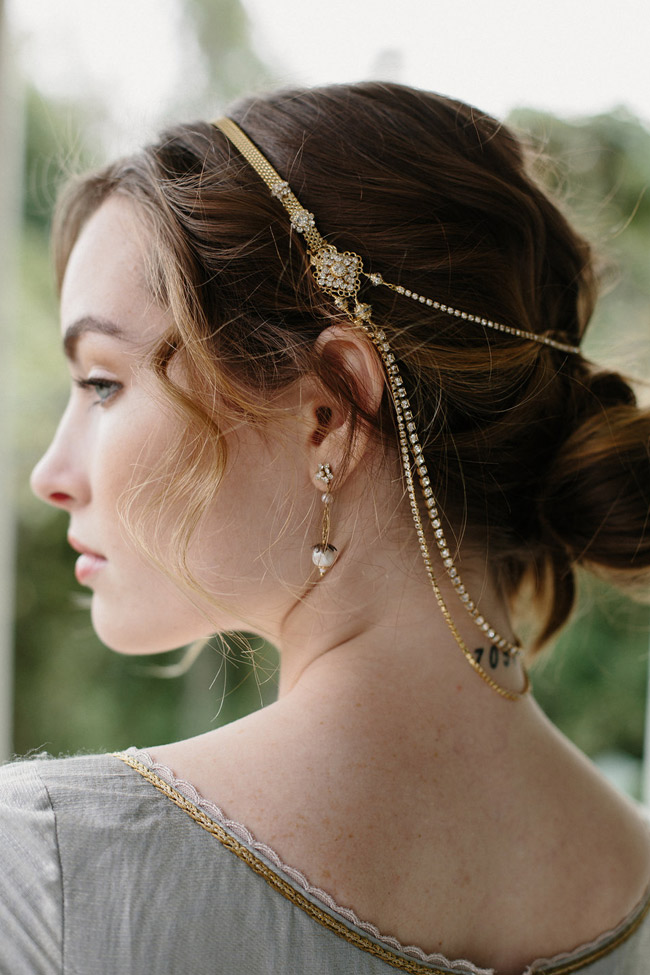 DOUBLE TAKE WEDDING MEDIEVAL HAIR CHAIN