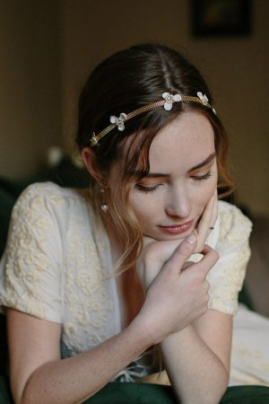 MORNING STAR BRIDAL HAIR CHAIN
