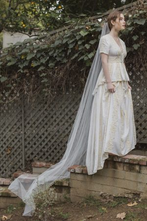 "CATHEDRAL 120"" MANTILLA BRIDAL VEIL"