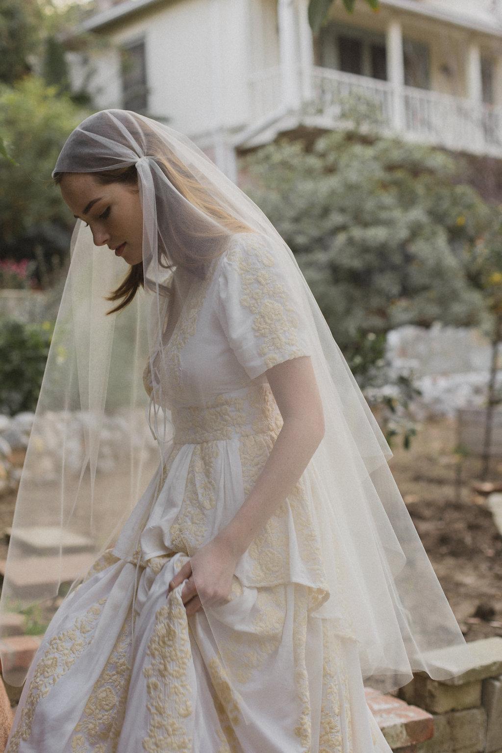 Juliet cap wedding veils, bridal veil, blusher veil, bridal veil ...