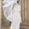 Fanny Juliet Blusher bridal cap