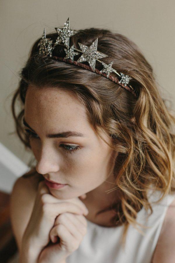 stargazer bridal tiara