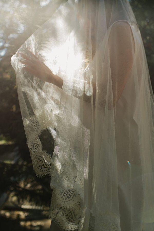 CHAPEL CHANTILLY LACE BRIDAL VEIL MY BELOVED