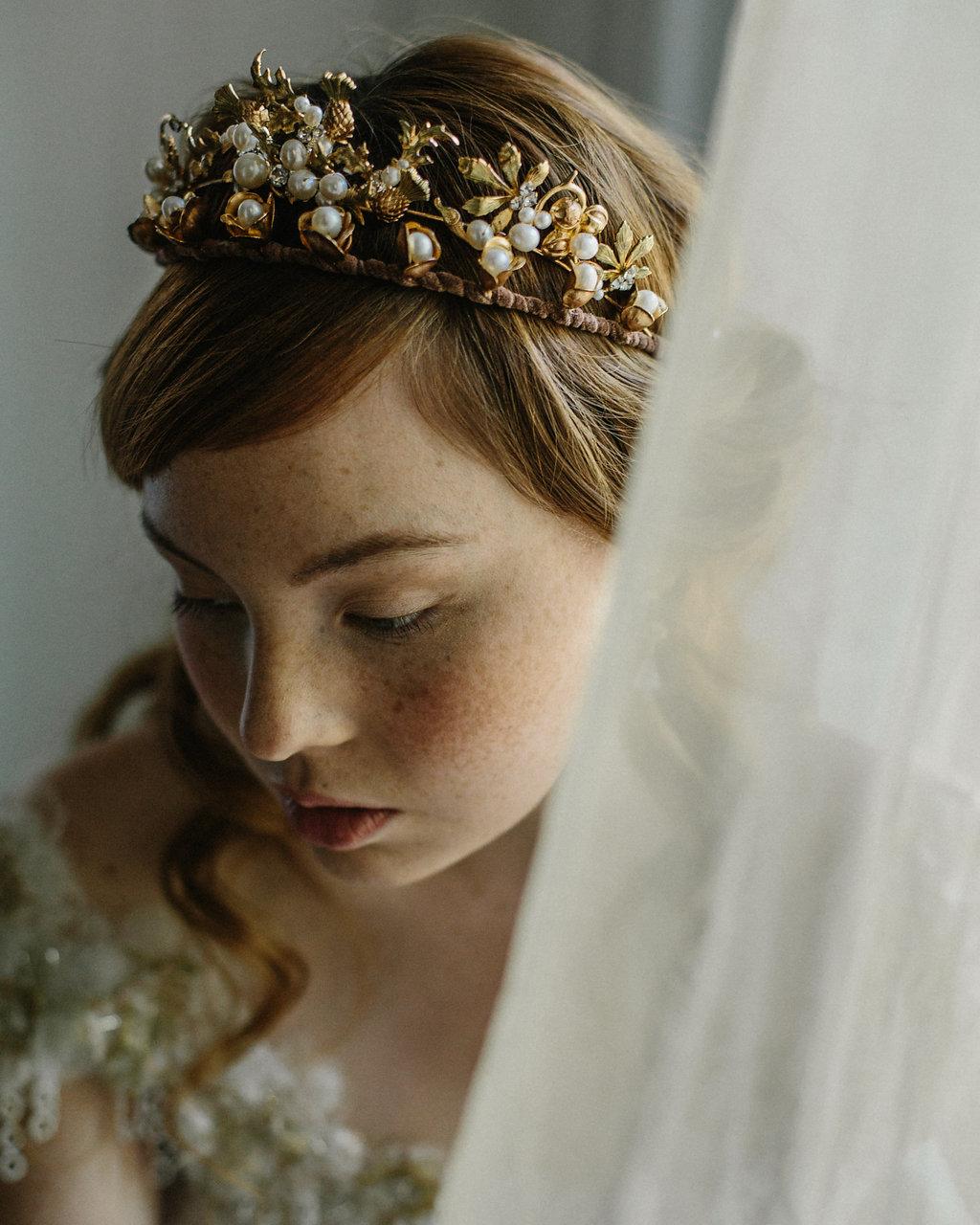 wedding, tiara, art nouveau, crown