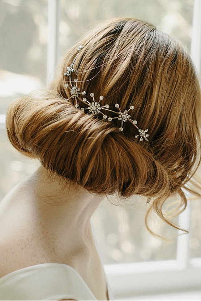 VENUS STAR BRIDAL HAIR VINE