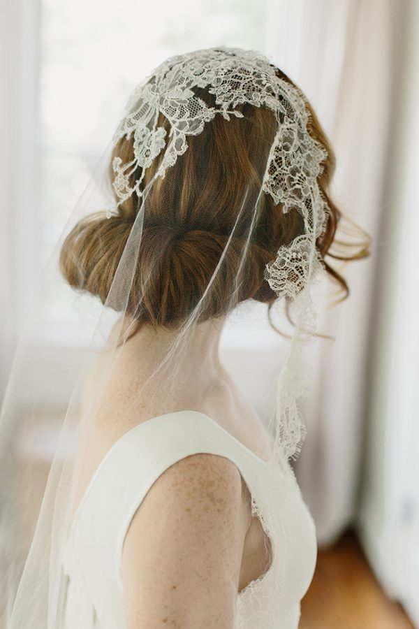 CHANTILLY LACE JULIET BRIDAL VEIL OPHELIA