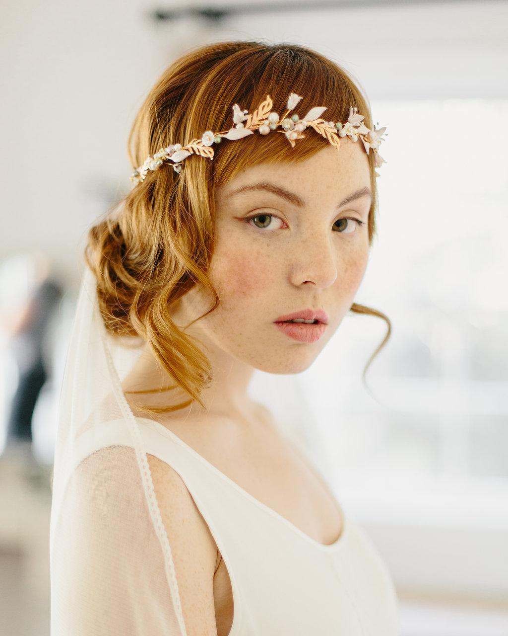 boho chic flower crown