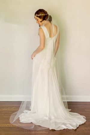 "80"" CHAPEL MANTILLA BRIDAL VEIL"
