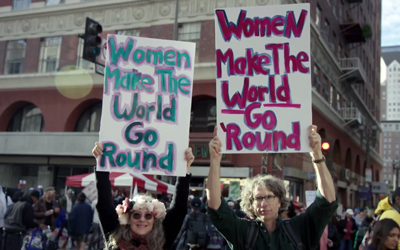 DAVID HAERLE'S WOMEN MAKE THE WORLD GO 'ROUND