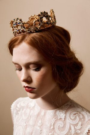 Coronation bridal diadem