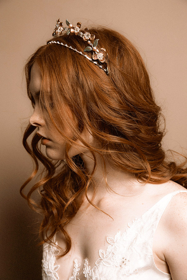 ALEXANDRA DOUBLE WEDDING CROWN