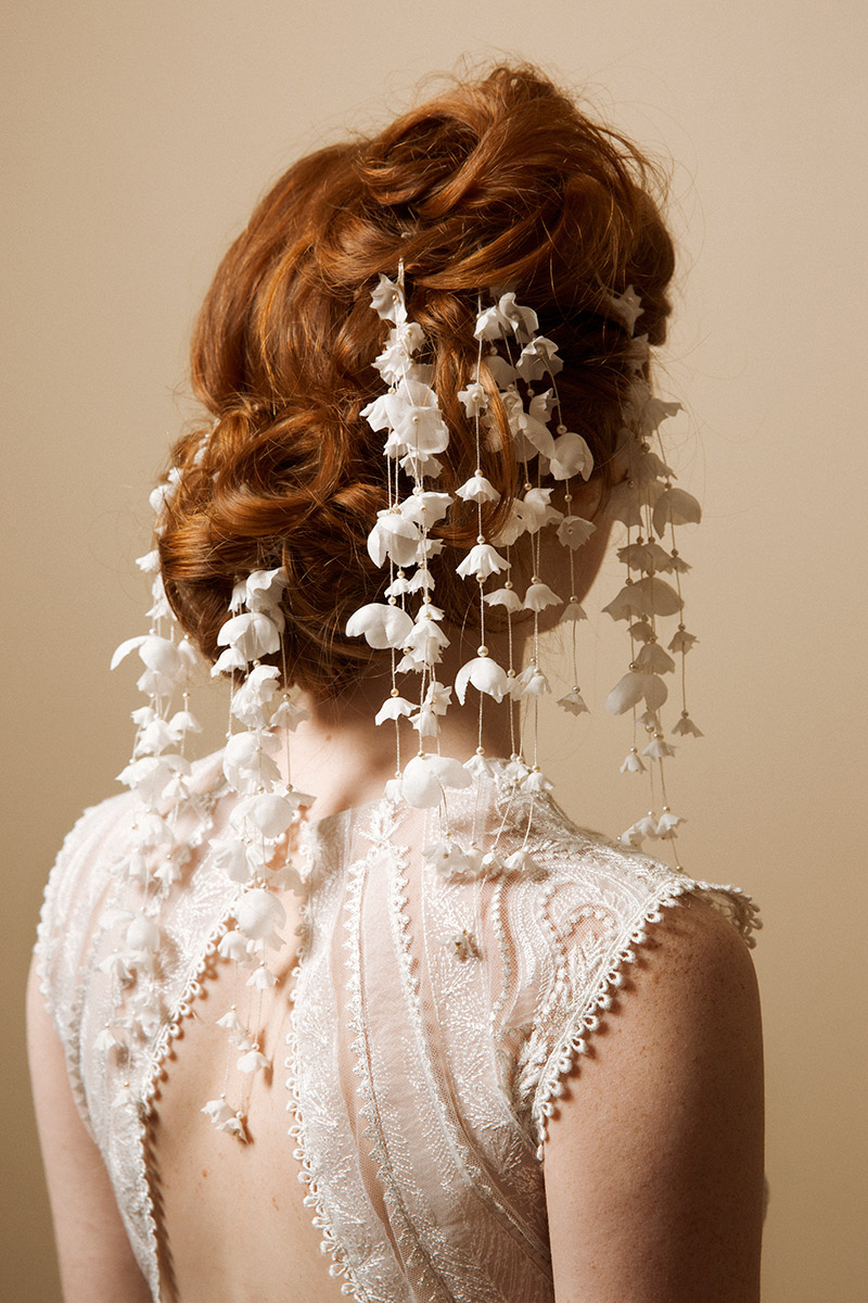 Bridal Hair Pins Hair Accessories Lily Of The Valley
