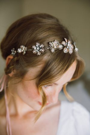 PAINTED LADY BUTTERFLY HAIR CHAIN