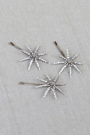 LUCKY STAR CELESTIAL HAIR PINS